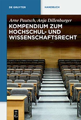 9783111739861: Kompendium Zum Hochschul- Und Wissenschaftsrecht (de Gruyter Handbuch) (German Edition)
