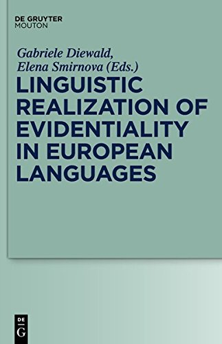 9783111740423: Linguistic Realization of Evidentiality in European Languages