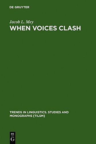 9783111743196: When Voices Clash: A Study in Literary Pragmatics