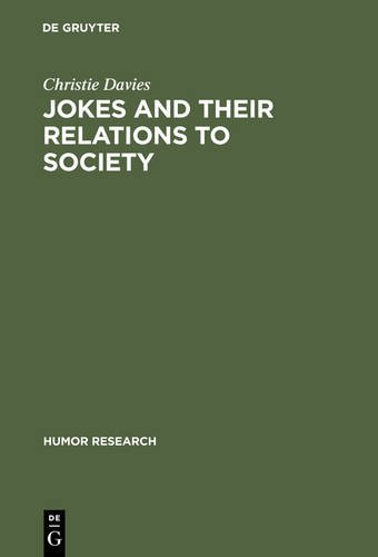 9783111746852: Jokes and Their Relations to Society (Humor Research)