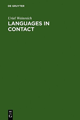 9783111748894: Languages in Contact: Findings and Problems