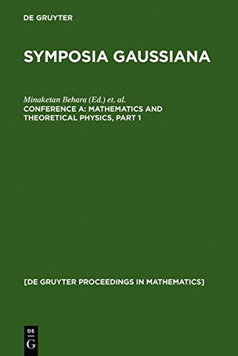 9783111751917: Mathematics and Theoretical Physics (de Gruyter Proceedings in Mathematics)