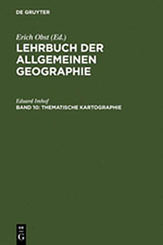 9783111760001: Thematische Kartographie (German Edition)
