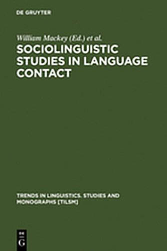 9783111771489: Sociolinguistic Studies in Language Contact: Methods and Cases (Trends in Linguistics. Studies and Monographs [Tilsm])