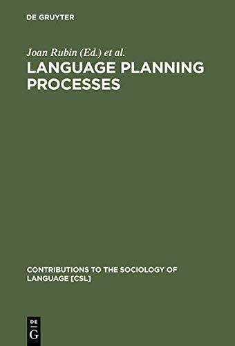 9783111772301: Language Planning Processes