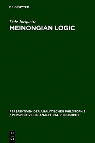 9783111772523: Meinongian Logic: The Semantics of Existence and Nonexistence (Perspektiven Der Analytischen Philosophie / Perspectives in)