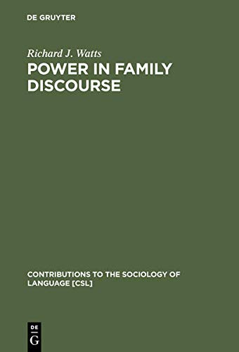 9783111781808: Power in Family Discourse