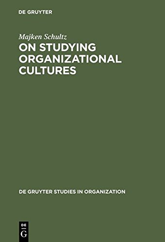9783111782256: On Studying Organizational Cultures: Diagnosis and Understanding (de Gruyter Studies in Organization)