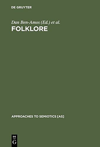 9783111784144: Folklore: Performance and Communication (Approaches to Semiotics [As])