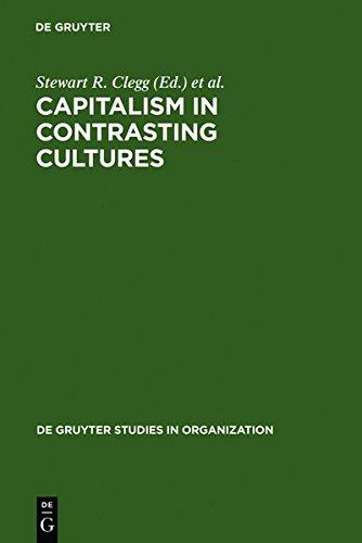 9783111788708: Capitalism in Contrasting Cultures (de Gruyter Studies in Organization)