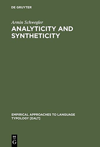 9783111790725: Analyticity and Syntheticity: A Diachronic Perspective with Special Reference to Romance Languages (Empirical Approaches to Language Typology [EALT])