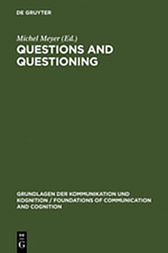 9783111791333: Questions and Questioning (Grundlagen Der Kommunikation Und Kognition / Foundations of)
