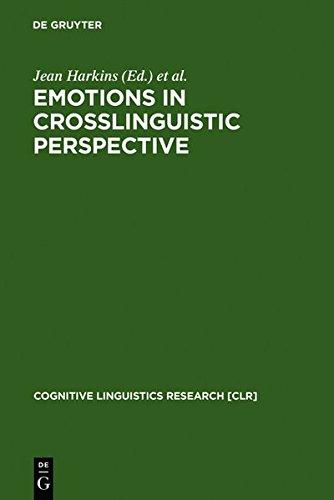 9783111792569: Emotions in Crosslinguistic Perspective (Cognitive Linguistics Research)