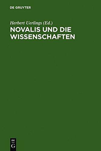 9783111799339: Novalis Und Die Wissenschaften (German Edition)