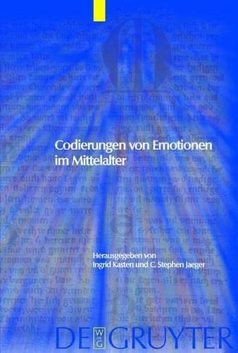 9783111799575: Codierungen Von Emotionen Im Mittelalter / Emotions and Sensibilities in the Middle Ages (Trends in Medieval Philology)