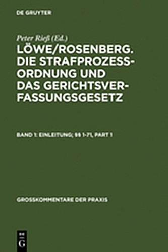9783111802312: Einleitung; 1-71 (Gro Kommentare Der Praxis)