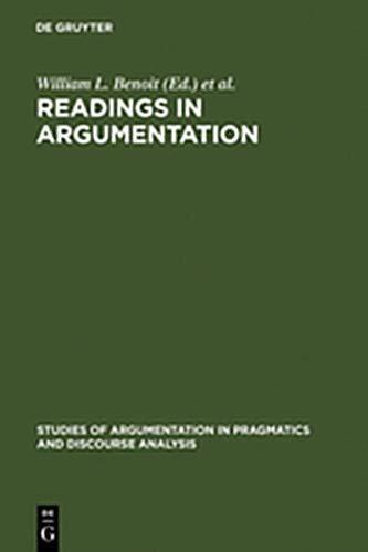 9783111803685: Readings in Argumentation
