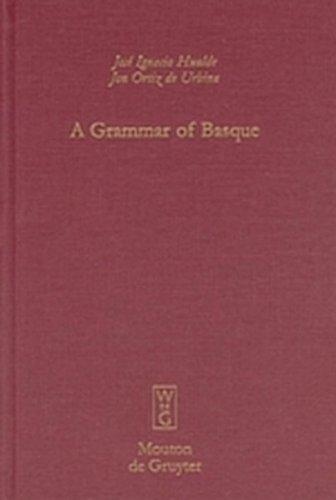 9783111806730: A Grammar of Basque