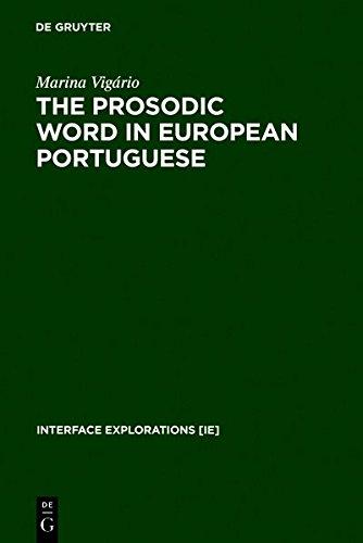 9783111806754: The Prosodic Word in European Portuguese