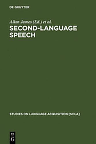 9783111809144: Second-Language Speech: Structure and Process (Studies on Language Acquisition [SOLA])