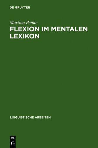 9783111816388: Flexion Im Mentalen Lexikon