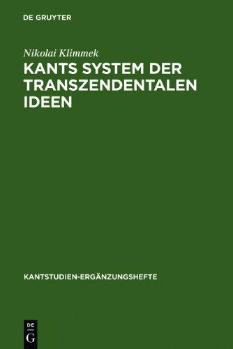 9783111822099: Kants System Der Transzendentalen Ideen