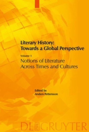 9783111823683: Literary History: Towards a Global Perspective: Volume 1: Notions of Literature Across Cultures. Volume 2: Literary Genres: An Intercultural Approach.