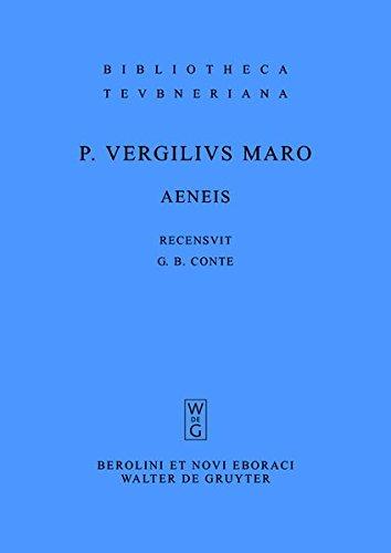 9783111844985: Aeneis (Bibliotheca Scriptorum Graecorum Et Romanorum Teubneriana)