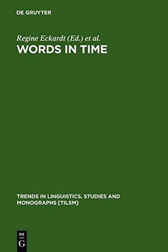 9783111851761: Words in Time: Diachronic Semantics from Different Points of View (Trends in Linguistics. Studies and Monographs [Tilsm])