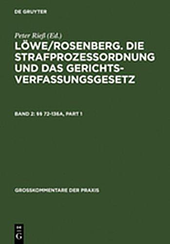 9783111856551: 72-136a (Gro Kommentare Der Praxis)