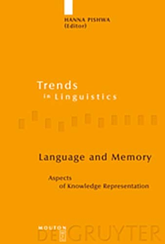 9783111873800: Language and Memory: Aspects of Knowledge Representation (Trends in Linguistics. Studies and Monographs [Tilsm])