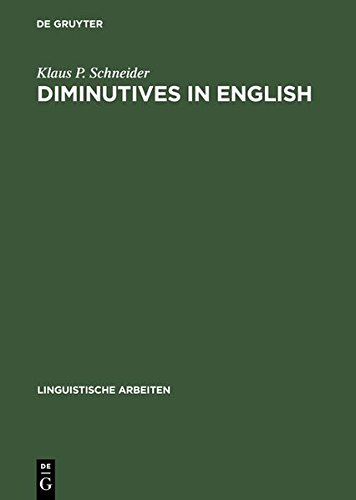 9783111882529: Diminutives in English