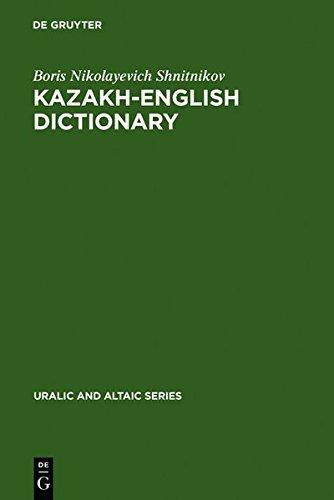 9783111972312: Kazakh-English Dictionary