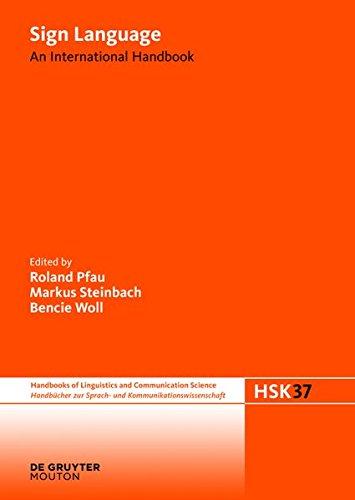 9783112146729: Sign Language: An International Handbook (Handb Cher Zur Sprach- Und Kommunikationswissenschaft / Hand)