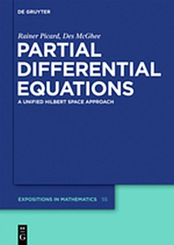 9783112188958: Partial Differential Equations: A Unified Hilbert Space Approach (de Gruyter Expositions in Mathematics)