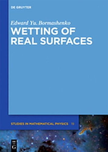 9783112203750: Wetting of Real Surfaces
