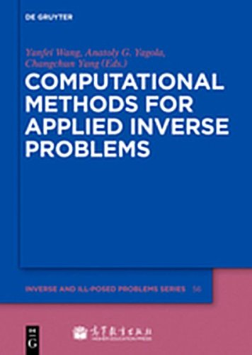 9783112204412: Computational Methods for Applied Inverse Problems