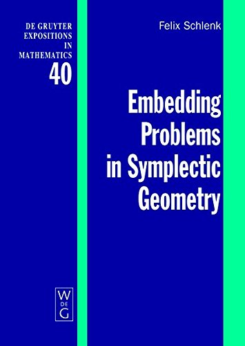 9783119159173: Embedding Problems in Symplectic Geometry (de Gruyter Expositions in Mathematics)