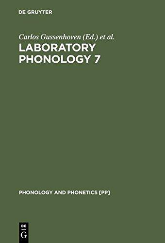 9783119160179: Laboratory Phonology 7 (Phonology and Phonetics [Pp])