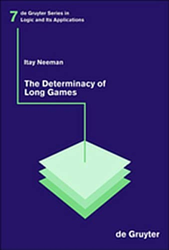 9783119164290: The Determinacy of Long Games