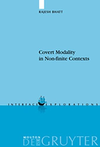 9783119166973: Covert Modality in Non-finite Contexts (Interface Explorations [IE])
