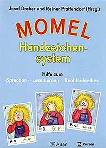 9783120034902: Momel Handzeichensystem: Hilfe zum Sprechen - Lesenlernen - Rechtschreiben