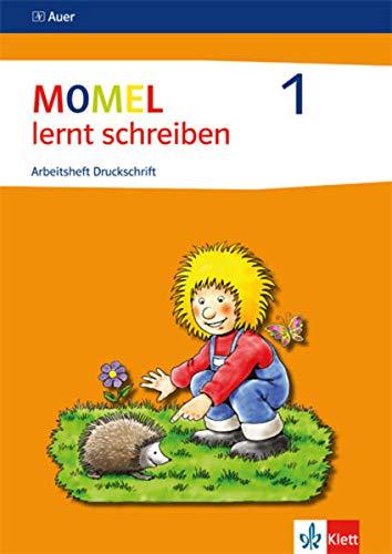 9783120048695: Momel lernt schreiben. Schülerarbeitsheft 1. Druckschrift