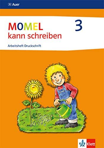 9783120048718: Momel schreiben. Schülerarbeitsheft 3. Druckschrift