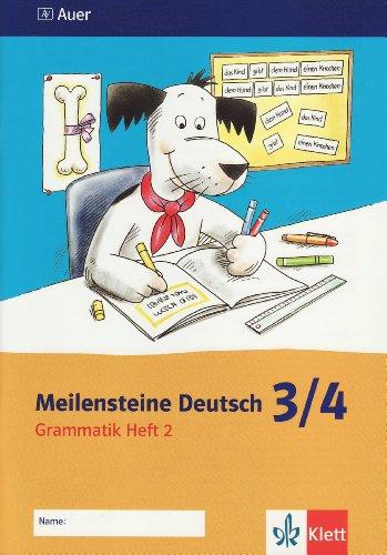 9783120060062: Meilensteine Deutsch 2 - Grammatik / 3./4. Klasse