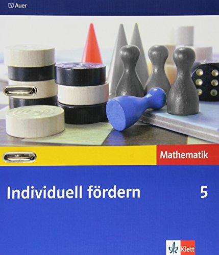 9783120062974: Individuell fördern Mathematik 5. Jahrgangsstufe