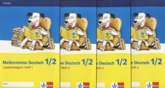 9783120065623: Meilensteine Deutsch - Lesestrategien. Paket mit allen vier Heften