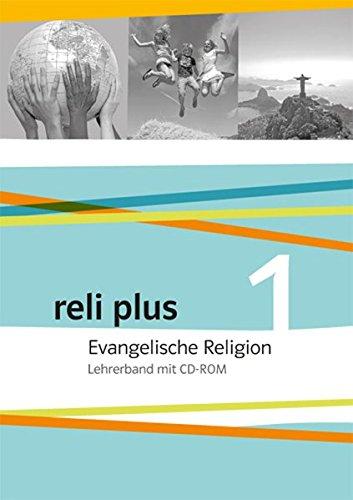 9783120066255: reli plus 1. Lehrerband mit CD-ROM 5./6. Schuljahr: Evangelische Religion