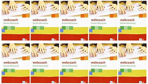 9783120066491: webcoach. Soziale Netzwerke. 5./6. Schuljahr (Arbeitshefte im 10er Paket)