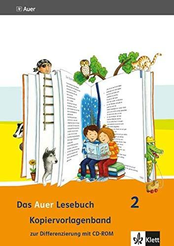 9783120067955: Das Auer Lesebuch. Kopiervorlagenband zur Differenzierung (mit CD-ROM) 2. Schuljahr. Ausgabe für Bayern - Neubearbeitung 2014